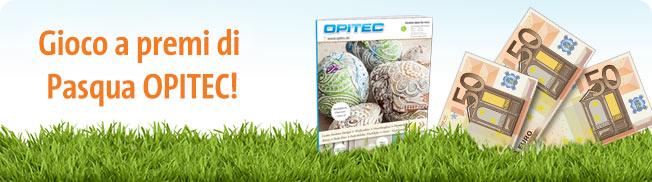Gioco a premi di Pasqua OPITEC!