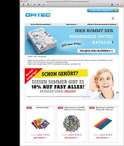 E-Mail-Newsletter e offerte settimanali online