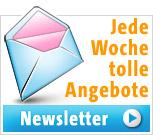 Newsletter abonnieren - Aktionen, Gewinnspiele, Trends, Vorteils-Angebote