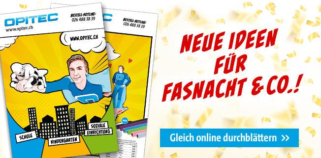 Neue Ideen für Fasnacht & Co.