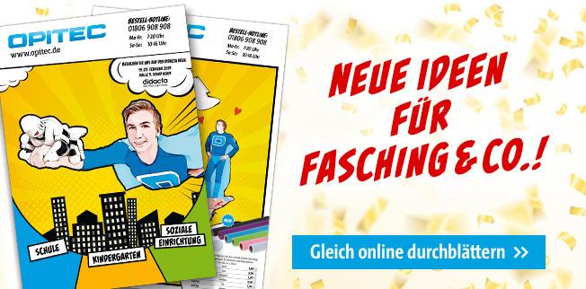 Neue Ideen für Fasching & Co.