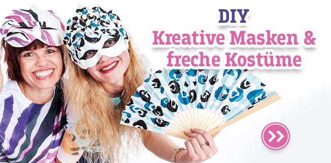 DIY Kreative Masken & freche Kostüme - Das gro�e Faschings-Special!