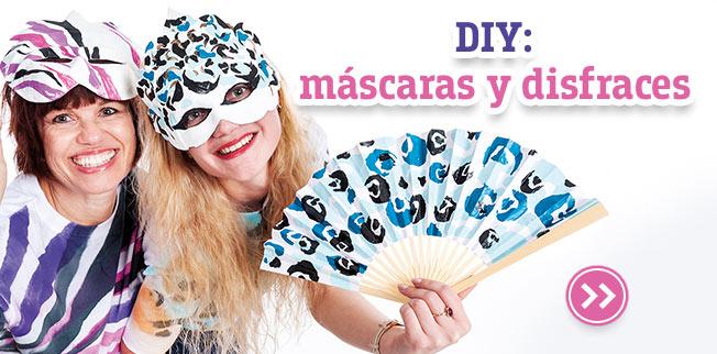 DIY: m�¡scaras y disfraces