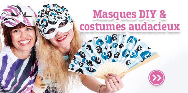 Masques DIY & costumes audacieux