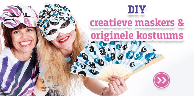 DIY creatieve maskers & originele kostuums