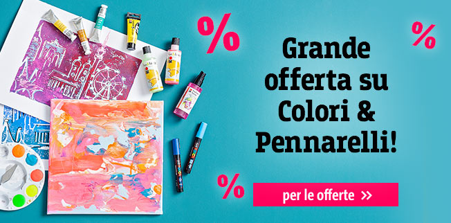 Grande offerta su  Colori & Pennarelli!