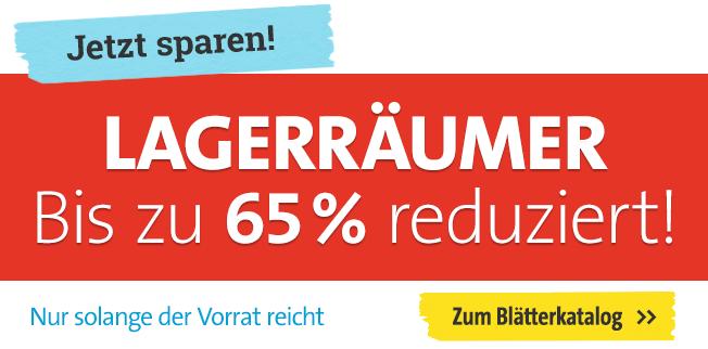 Bis zu 65% reduziert!