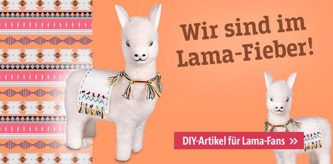 Wir sind im Lama-Fieber! DIY-Artikel für Lama-Fans