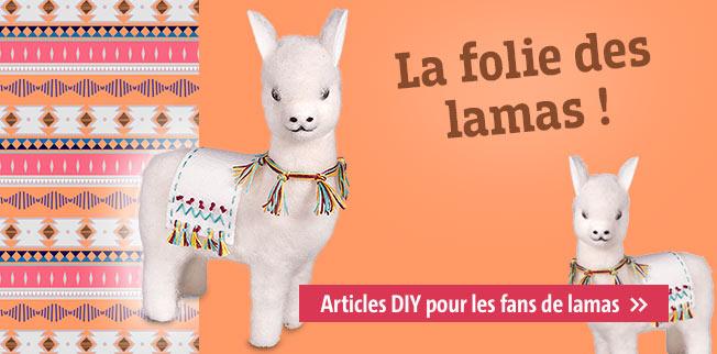Tous fous de lamas ! Articles DIY pour les fans de lamas
