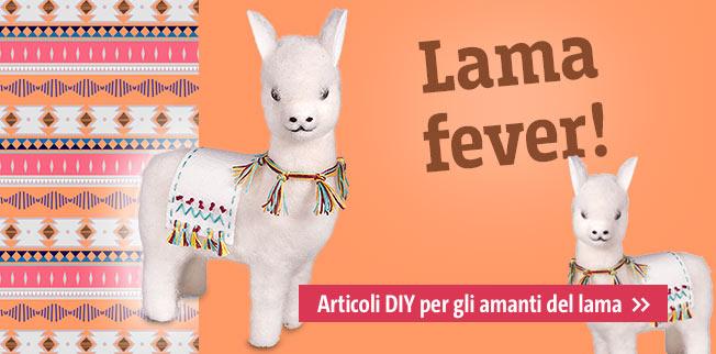 Lama fever! Articoli DIY per gli amanti del lama
