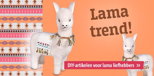 Lama trend! DIY-artikelen voor lama liefhebbers