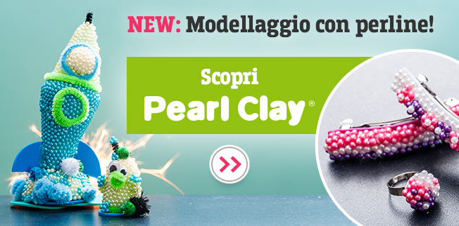 Modellare con le NUOVE perline Pearl Clay®!