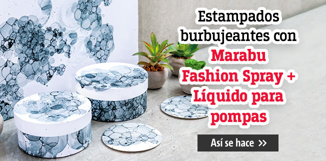 Marabu Fashion Spray + líquido para pompas de jabón