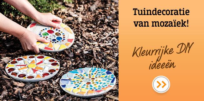 Tuindecoratie van mozaïek: Kleurrijke DIY ideeën!