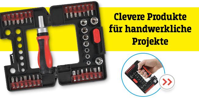 Clevere Produkte für handwerkliche Projekte