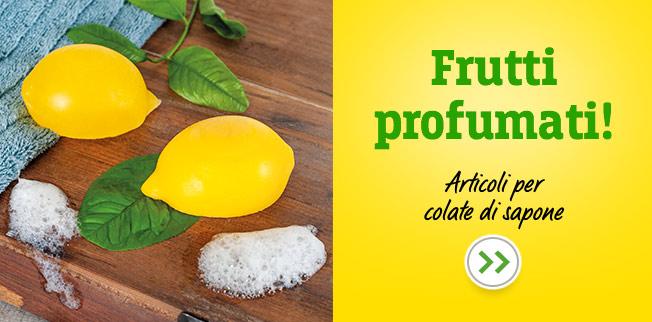 Frutti profumati! Articoli per colate di sapone