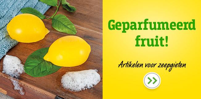 Geparfumeerd fruit van zeep