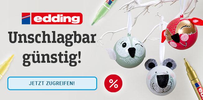 edding-Stifte: vielfältig, bunt und unschlagbar günstig!