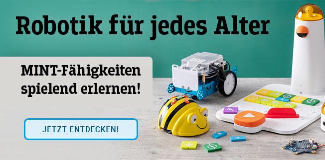 Robotik für jedes Alter