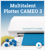 Multitalent Plotter Cameo 3 - elektronische Schneidemaschine