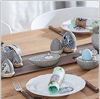 Instrucciones: Decoración de Pascua de hormigón