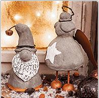 Instrucciones: Figuras navideñas