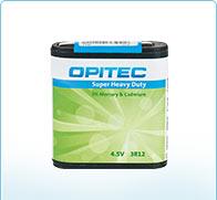 marque OPITEC - Piles