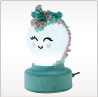 Idée de bricolage lampe de chevet licorne