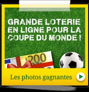 Les gagnants de notre grande loterie de la coupe du monde - Gagnant de la coupe du monde ...