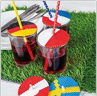 Couvercles pour verre Coupe du Monde