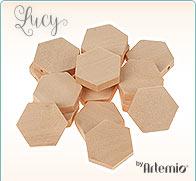 Holzperlen Lucy