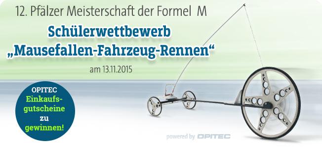 Sch�lerwettbewerb Mausefallen-Fahrzeug-Rennen