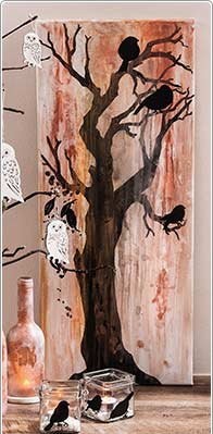 Mixed Media Bild Baum