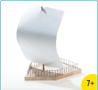 OPITEC Plus Line Wooden Boat