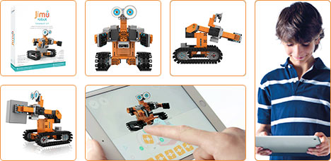 Plus d'info d'article UBTECH Jimu AstroBot Kit