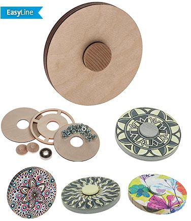 Kit d'atelier Easyline-Spinner disque