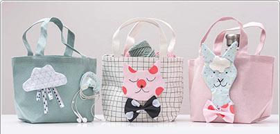 Accessoires voor de tassen