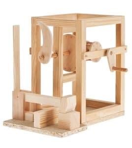 Bouwpakket II Leonardo da Vinci,hamerwerk
