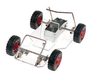 Go-Cart mit Schwungmotor