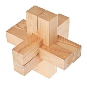 Casse-tête en bois OPITEC, U..., la pièce