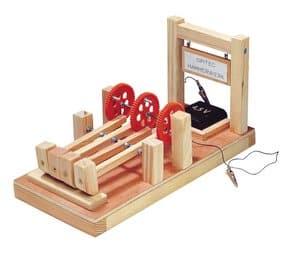 Hamerwerk, viervoudig met electromotor