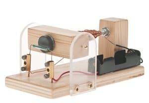 Reedcontact motor