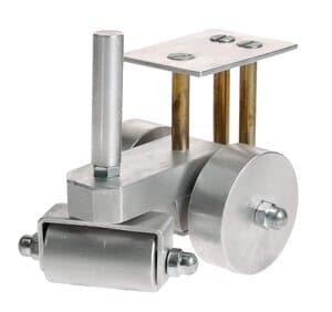 Metalen stoomwals