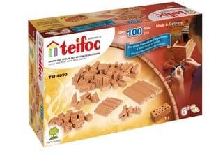 Teifoc bouwstenen mix-verpakking, 104 delig