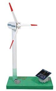 Solar aangedreven windgenerator