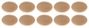 Houten buttons (50 mm) 10 stuks