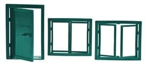 Ramen + deur (2 + 1)