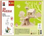 3D Puzzle Baumhaus, 37 Teile