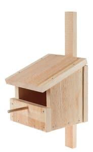 Caja nido semiabierta