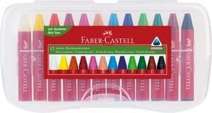 Craies de cire Jumbo Faber-Castell , Co...,